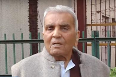ரஜிந்தர் சச்சார் (1923 – 2018)