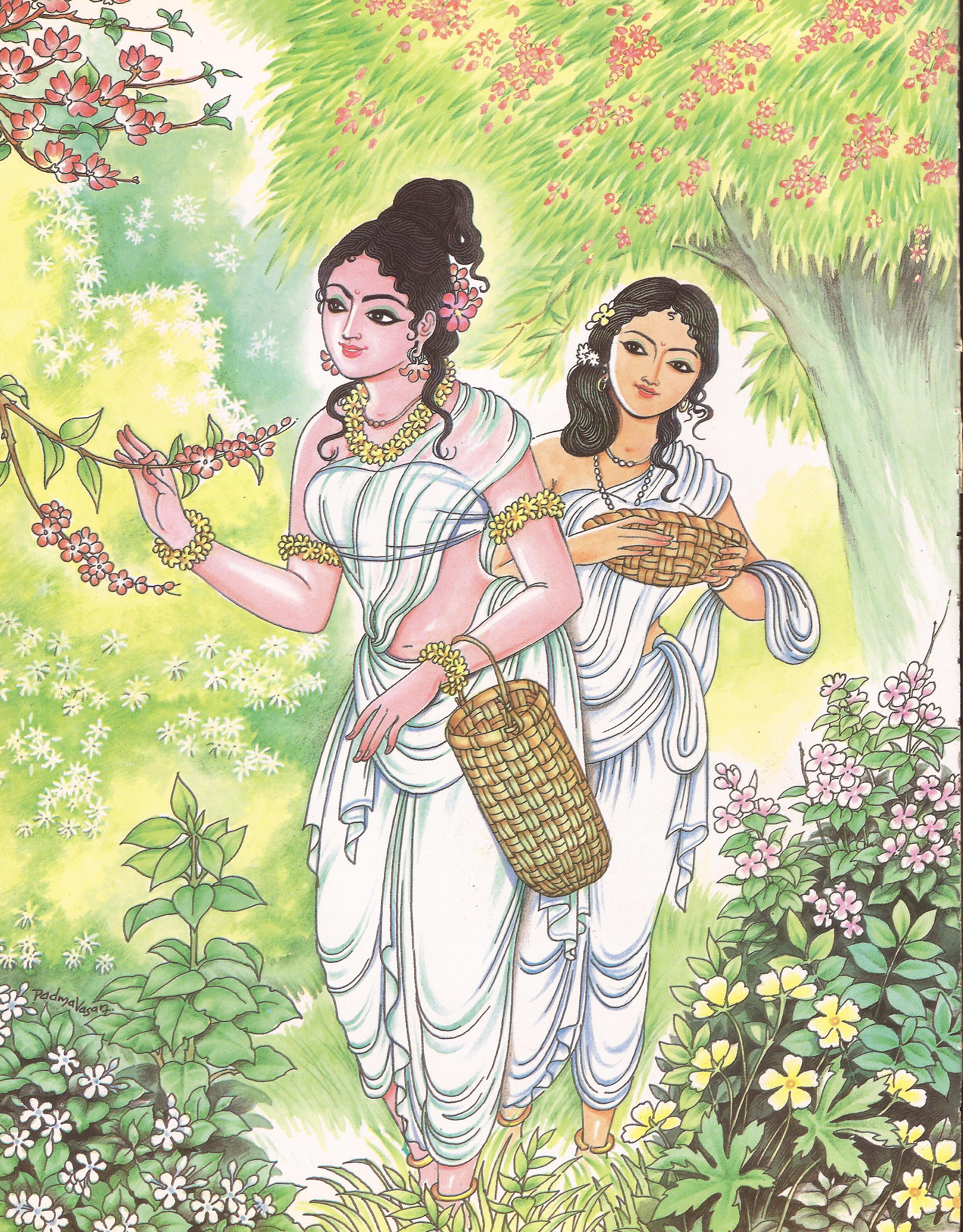 tamil-puu-parithal