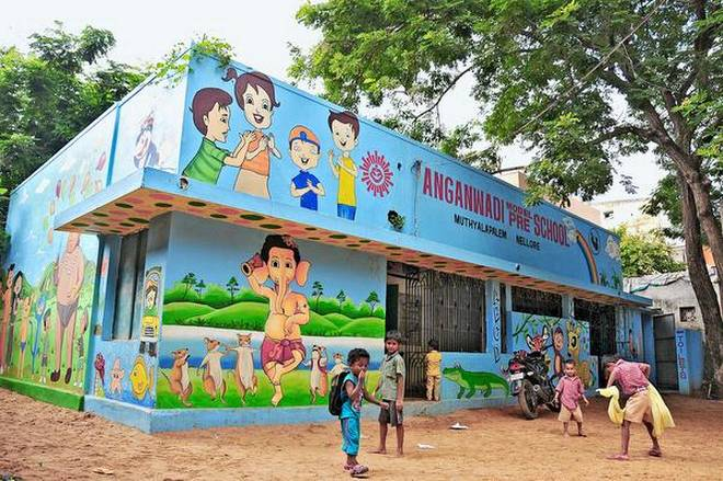 Anganwadi-preschool